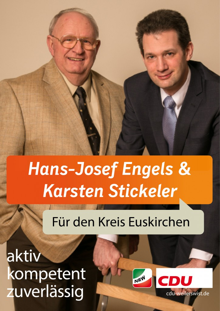 Kreistag Wahlplakat